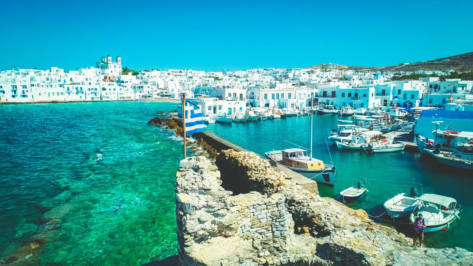 Paros old harbour