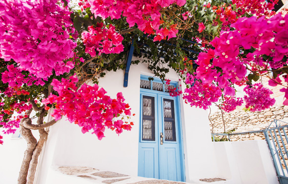 Greek typical house